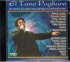 El Tano Pagliaro Le Canta a Todos  sus Amigos Cantautores   BRAND NEW SEALED CD