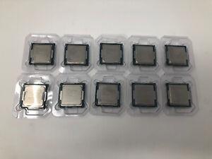 Lot Of 10 Intel Core i5-4590 3.30GHz, SR1QJ Quad Core Processors