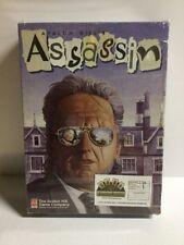1993 Avalon Hill Assassin Bookcase Game Board Game