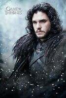 Game Of Thrones - Jon Snow-Poster-Laminated available-91cm x 61cm-Brand New-P...