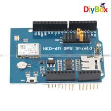 Blox NEO-6M GPS Logger Shield Module Board SPI UART SD Card Slot for Arduino F7