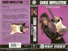 chris impellitteri speed soloing reh guitar instructional dvd yngwie malmsteen