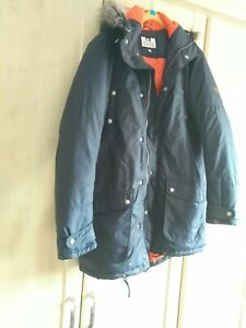 Weekend Offender mens jacket size L navy blue cargo pretty green style