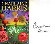 Charlaine Harris~SIGNED~Dead Ever After~Sookie Stackhouse/Trueblood~1st/1st HC