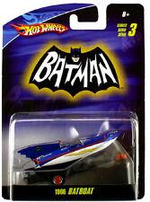 Hot Wheels Batman 1966 BatBoat Diecast 1/50 Series 3 New