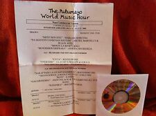 Radio Show: PUTUMAYO WORLD MUSIC WORLD HITS! HARRY BELAFONTE, JIMMY CLIFF, ENYA