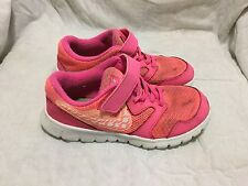NIKE RUNNING SHOES - PINK COLOR - ( SIZE 13.5C ) CHILD TODDLER
