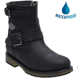 Harley Davidson Kommer CE Womens Waterproof Motorcycle Biker Boots Size 5-8