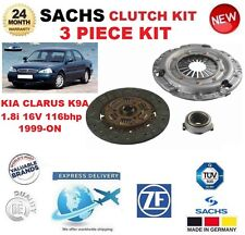 FOR KIA CLARUS K9A 1.8i 16V 116bhp 1999-ON SACHS 3 PIECE CLUTCH KIT OE QUALITY