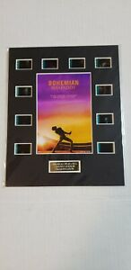 Bohemian Rhapsody Authentic 35mm Movie Film Cells Matted Display 8'x10' w/COA