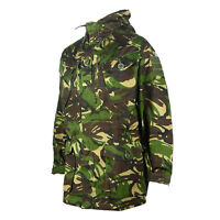 Genuine British Army Windproof DPM Woodland Camo SAS Smock Coat Combat Jacket