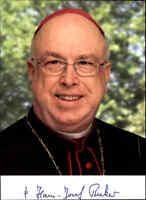 Hans-Josef Becker, geb. in Belecke, Erzbischof Paderborn Foto Druck-Unterschrift