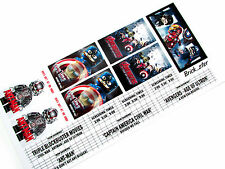 Custom stickers for LEGO 10232 Palace cinema 10184 ,toy builds -BLOCKBUSTERS1