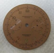 Chronographe suisse watch dial for Landeron 48 and others unused Perfect