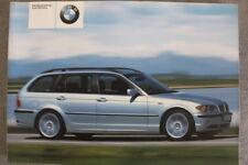 """BMW 3er Touring """"E46"""" Betriebsanleitung """"2002"""" Bedienungsanleitung Handbuch"""