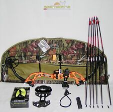 Fred Bear 2017 Cruzer G2 Spark Bow Blaze Orange Right Hand Package  5-70# 12-30""