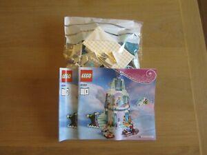 LEGO DISNEY 41062 ELSAS SPARKLING ICE CASTLE 100% COMPLETE