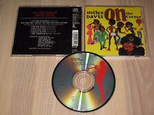 MILES DAVIS JAPÓN CD - ON THE CORNER / SONY RECORDS in MINT