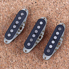 Prebuilt Constructed Neck Middle Bridage Pickup with Alnico Rod Magnets for ST