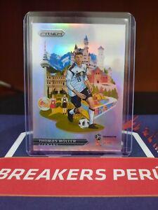 Panini Prizm World Cup Soccer 2018 LANDMARKS THOMAS MULLER GERMANY CASE HIT SSP