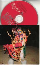 BJORK Earth Intruders 2007 UK 1-track promo only CD Timbaland