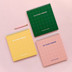 BEOND KOREA MY STUDY KEEPER Study Planner 3 Month Daily Plan Undated Notebook