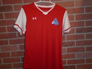 AMERICAN UNIVERSITY  UNDER ARMOUR VNECK TSHIRT ADULT MEDIUM