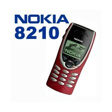 Phone Mobile Phone Nokia 8210 Red Gsm Lightweight Small Games Top Quality