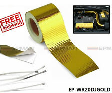 "2""x5 Meter Design Engineering Reflect A Gold Performance Heat Protection Tape/Ba"