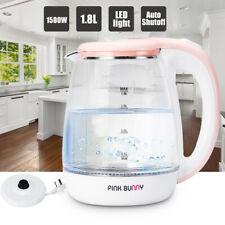 1.8L 1500W Electric Cordless Kettle Water Heater Boiler Home Tea Jug 360°