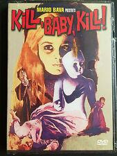 Kill Baby Kill (DVD 1999) VERY RARE 1966 MARIO BAVA HORROR CLASSIC BRAND NEW OOP