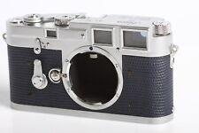 Leica M3 #781 432 Gehäuse mit dunkelblauer Verkleidung
