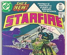 DC Comics STARFIRE #6 from July 1977  the Sinister Demons in VG/F Condition