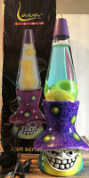 Vintage 1997 90's Toady Icon Series Figural Lava Lamp With Original Box Works