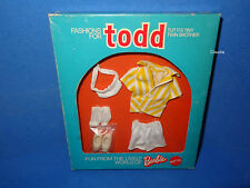 Vintage Tutti TODD Europe HUEBSCH ANGEZOGEN Well Dressed #7985 RARE VARIATION