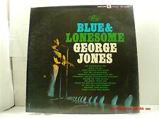 "GEORGE JONES -(LP)- BLUE & LONESOME - ""SINGING THE BLUES"" - MERCURY STEREO- 1964"