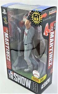 McFarlane Toys MLB The Show 19 J.D. Martinez Playstation Boston Action Figure