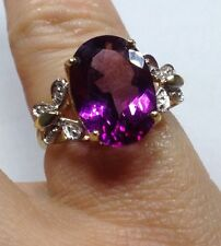 Unbranded Oval Routinely Enhanced Fine Gemstone Rings