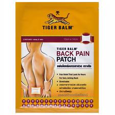 Tiger Balm Back Pain Patch x 2 Patches (Warm) 10 x 14 cm Camphor Mentha menthol