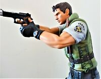 HCG RESIDENT EVIL CHRIS REDFIELD STATUE FIGURE BUST PROP REPLICA 1:6 SCALE RARE