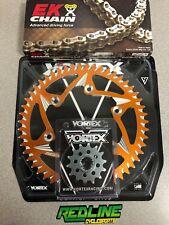 Vortex KTM 250 350 300 450 SX SXF XCF Chain Sprocket Kit 14/50