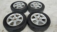 "Genuine Audi A4 16"" Wheels Tyres 225 55 16 Suits VW Caddy Jetta 5 X 112"