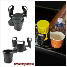 Car Seat 2 In 1 Cup Holder 360° Rotating Adjustable Water Bottle Drink Storage