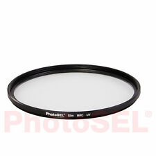 Photosel caflu162 62mm Super Slim con revestimiento múltiple MRC Atornillable Uv Protector Filter