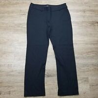 Chico's Women's Dress/Career Pants ~ Black ~ Sz 1 Short or Sz 8S  ~ Tapered