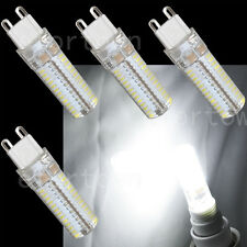 4 x G9 LED Bulb 5W 104 SMD Light Lamp 75W 80W Halogen Replacement Pure White