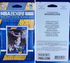 2016/17 NBA Hoops Golden State Warriors Team Set FINALS CHAMPIONS FREE GIFT!