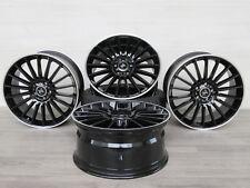 Für VW Touran 5T 5T1 18 Zoll Alufelgen 8x18 ET45 BLP Keskin KT15 Schwarz
