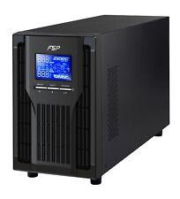 FSP Champ Tower 1k, Online-USV,1000 VA / 900W, 200 bis 300VAC, mit USB, RS-232.