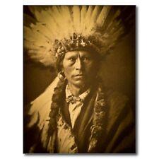 "~Post Card~""Apache Chief"" ...Garfield Indian (C2)"